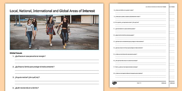 General conversation global issues question list sciox Images