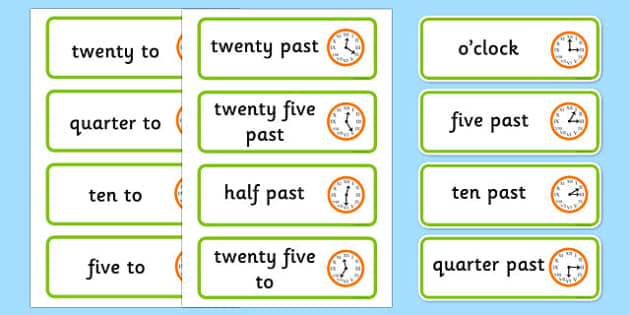 Roman Numerals Time Word Cards-roman numerals, time, word cards, time card, roman numeral cards, roman numeral times, clocks, numbers