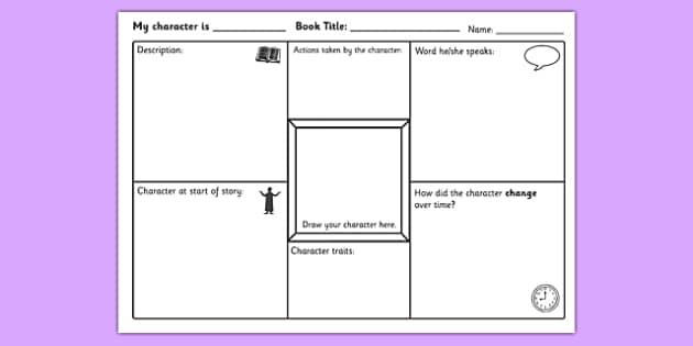 Free Elementary Worksheets Excel Character Study Activity Sheet  Characters Character Study Free Bill Nye Worksheets Excel with Kindergarten Nutrition Worksheets Word  Geography For Kids Worksheets Pdf