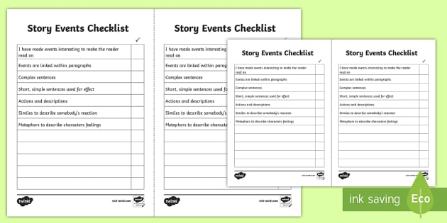 how to write a story year 1