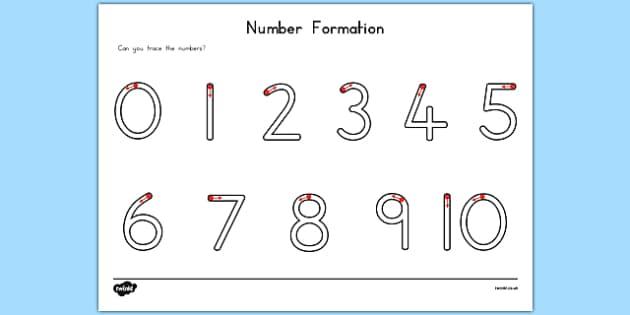 Number Formation Activity Sheet USA - usa, america, number formation, worksheet