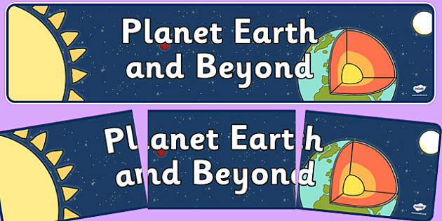 Planet Earth and Beyond Display Banner NZ - new zealand, planet earth, beyond, display banner
