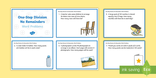 ks2 one step division no remainders word problems maths. Black Bedroom Furniture Sets. Home Design Ideas