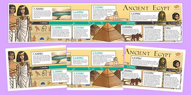 ancient egypt timeline egypt egypt timeline display