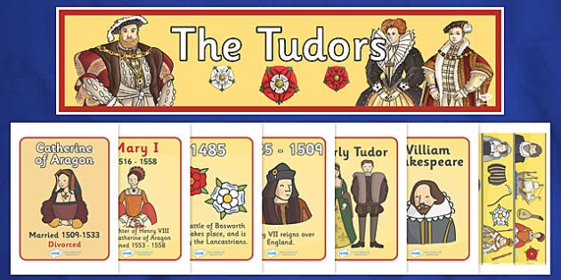 The Tudors Display Pack - the tudors, display pack, display banner, display photos, display, resource pack, display lettering, resources, classroom display