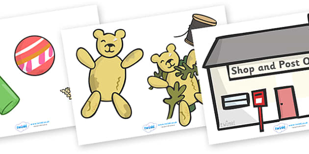 Story Cut Outs to Support Teaching on Katie Morag and the Tiresome Ted - Katie Morag, cut out, cut outs, cutting, story resources, Mairi Hedderwick, story, fine motor skills, scotland, scottish, book, resources, story book