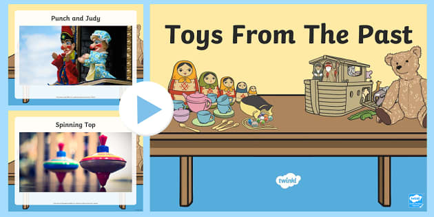 Toys From The Past : Toys from the past photo powerpoint power point