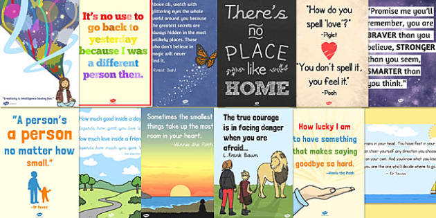 Corner Exhibition Stands Quotes : Reading corner display quotes poster pack