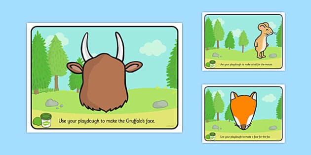 The Gruffalo Playdough Mats The Gruffalo Playdough Mat