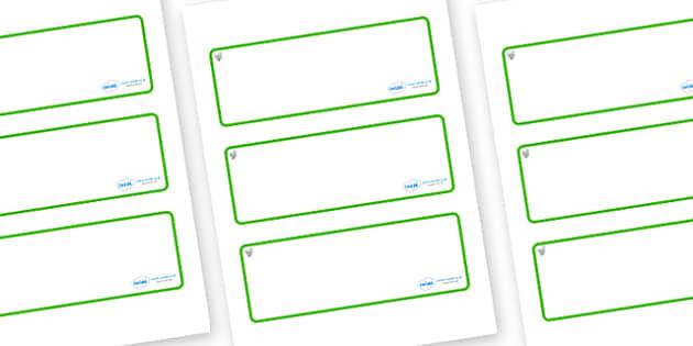 Hazel Tree Themed Editable Drawer-Peg-Name Labels (Blank) - Themed Classroom Label Templates, Resource Labels, Name Labels, Editable Labels, Drawer Labels, Coat Peg Labels, Peg Label, KS1 Labels, Foundation Labels, Foundation Stage Labels, Teaching L