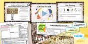 PlanIt - Art - KS1 Colour Chaos Lesson 4: Pollock Lesson Pack