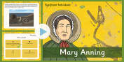 Significant Individuals Mary Anning PowerPoint