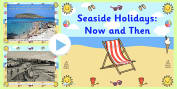 The Seaside Primary Resources, beach, sun, sand, holiday, seaside shoip