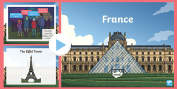 KS2 France Primary Resources, France, Countries, Places, The World