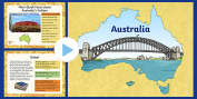 KS2 Australia, Around the World, Geography, KS2 Geography