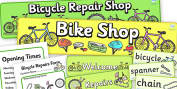 Bicycle Repair Role Play Primary Resources, bike, repair, fix