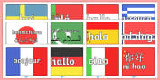 Languages Primary Resources, MFL, French, German, Spanish, Italian