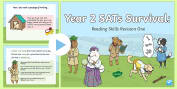 * NEW * Year 2 SATs Survival: Reading Skills Revision PowerPoint 1
