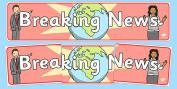 News & Media Primary Resources, news, media, headlines, reporter