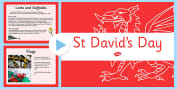 St David's Day Primary Resources, St David's Day, cymru, printable