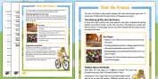 PE & Sports Tour De France Primary Resources - PE and Sports Prim