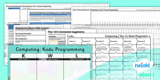 PlanIt - Computing Year 6 - Kodu Programming Unit Assessment Pack