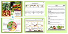 Cooking and Nutrition Resource Pack