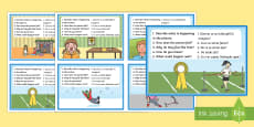 Inference Picture Cards English/Romanian