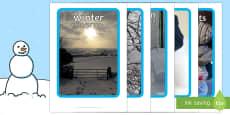Winter Display Photographs English/ Italian