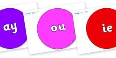 Phase 5 Phonemes on Circles