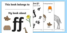 My Phase 2 Digraph Workbook (ff)