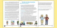 Start of a New School Year Checklist