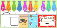 Father's Day Resource Pack for Childminders