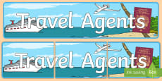 Travel Agents Display Banner