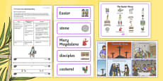 The Easter Story A Sensory Story Resource Pack
