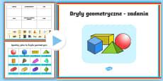 Prezentacja PowerPoint Bryły geometryczne