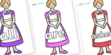 Tricky Words on Maids