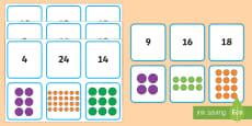 Array Matching Cards