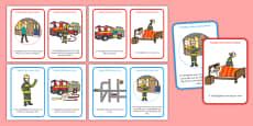 Firefighter Rules Scenario Cards