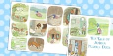 The Tale of Jemima Puddle-Duck Story Cut Outs (Beatrix Potter)