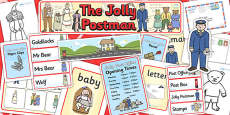 Childminder Resource Pack to Support Teaching on The Jolly Postman