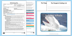 EYFS The Penguin's Packing List Adult Input Plan and Resource Pack to Support Teaching on Lost and Found