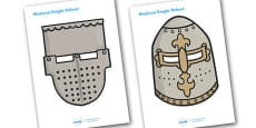 Medieval Knights Role Play Masks