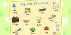 Initial l Sound Mat