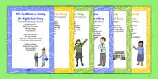 EYFS End of Year Songs and Rhymes Resource Pack