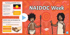 EYLF NAIDOC Week Powerpoint