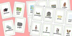 Three Syllable GR Playing Cards