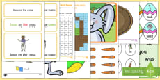 * NEW * Easter Themed Phase 3 Phonics Resource Pack