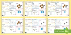 Procedural Year 2 Mat 1 Maths Activity Mats