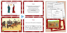 Questioning and Speaking and Listening Skills to Explore the Shang Dynasty PowerPoint
